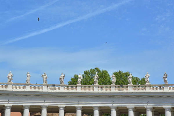 Photograph - Saints Of The Colonnade by JAMART Photography
