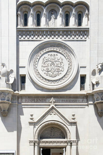 Wall Art - Photograph - Saints Peter And Paul Church Details On Filbert Street San Francisco R632 by Wingsdomain Art and Photography