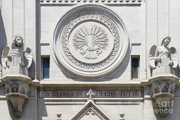 Wall Art - Photograph - Saints Peter And Paul Church On Filbert Street San Francisco R640 by Wingsdomain Art and Photography