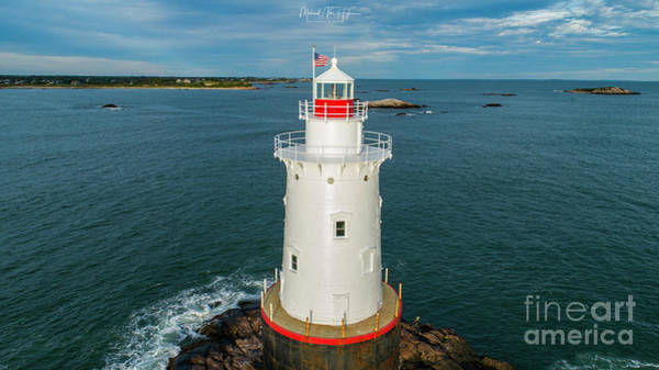 Photograph - Sakonnet Light  by Michael Hughes