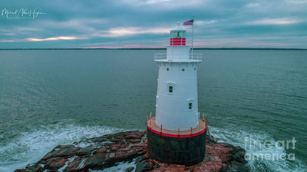 Photograph - Sakonnet Lighthouse by Michael Hughes