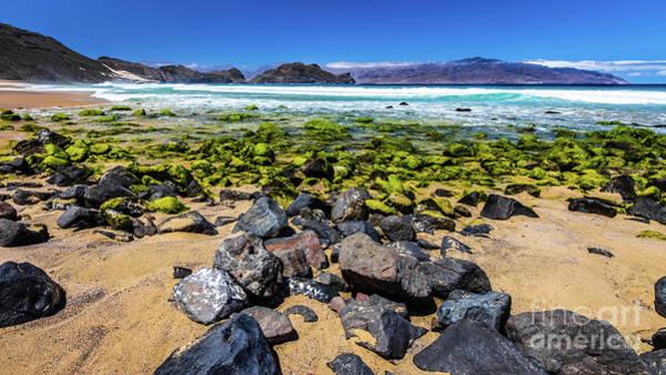 Photograph - Salamansa Beach, Sao Vincente, Cape Verde by Lyl Dil Creations