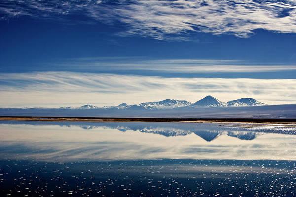 Salar De Atacama Photograph - Salar De Atacama Covered In Water by © Santiago Urquijo