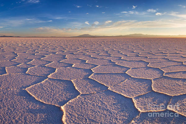 Wall Art - Photograph - Salar De Uyuni At Sunrise, The Largest by David Krijgsman