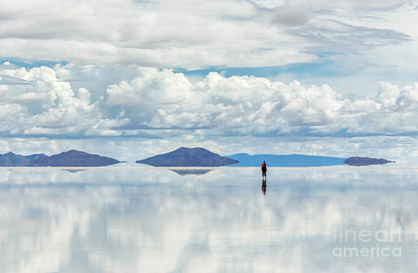 Wall Art - Photograph - Salar De Uyuni Is Largest Salt Flat In by Vadim Petrakov