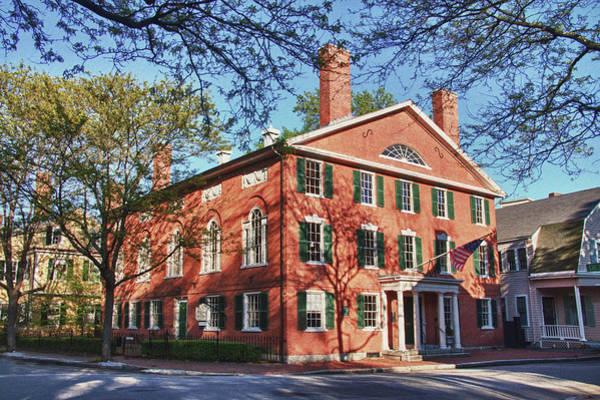 Photograph - Salem Chestnut Street - Hamilton Hall by Jeff Folger