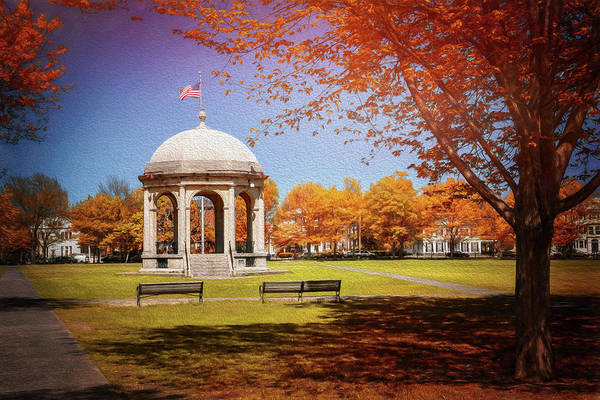 Wall Art - Photograph - Salem Common Salem Massachusetts by Carol Japp