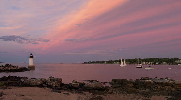 Photograph - Salem Harbor At Sunset by Jeff Folger