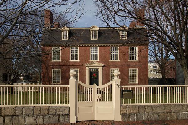Photograph - Salem Ma Derby House by Jeff Folger
