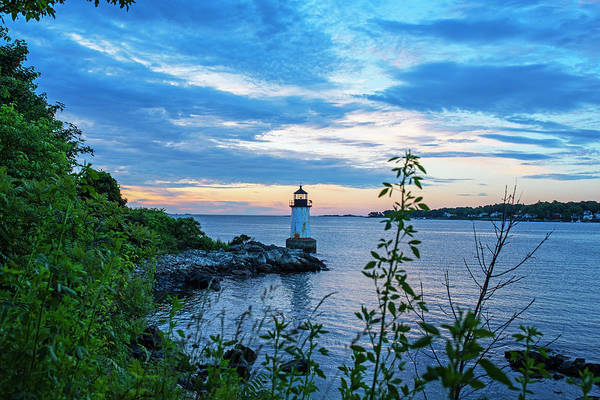 Photograph - Salem Ma Pickering Light Winter Island Sunrise by Toby McGuire