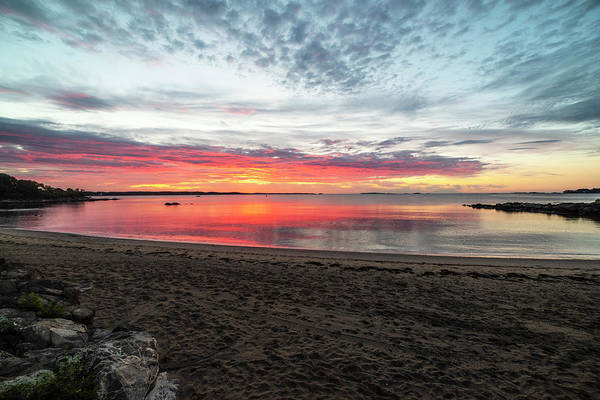 Photograph - Salem Ma Waikiki Beach Sunrise Wide by Toby McGuire