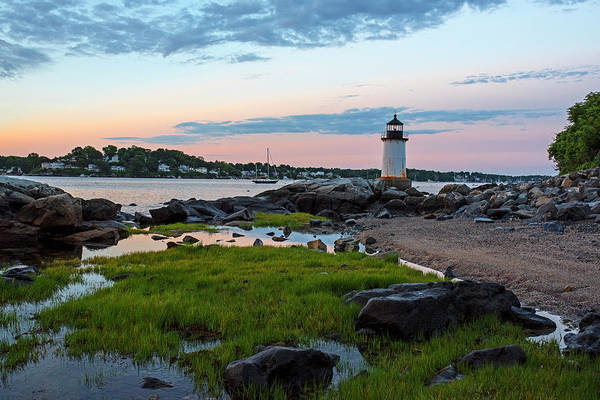 Photograph - Salem Ma Winter Island Fort Pickering Light Morning Light by Toby McGuire