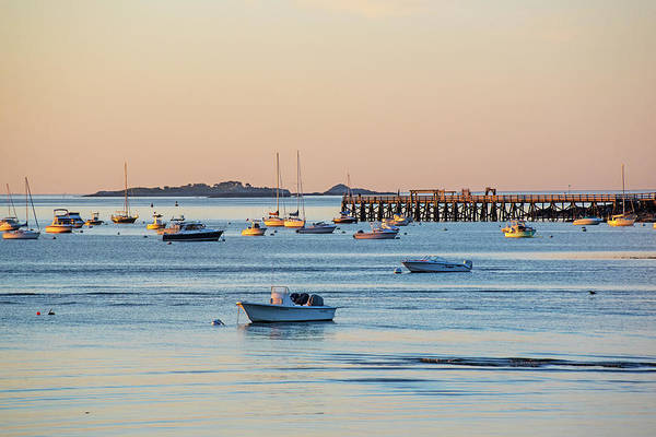 Photograph - Salem Willows Pier From Beverly Ma Independence Park by Toby McGuire
