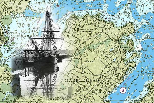 Photograph - Salem's Tall Ship The Friendship by Jeff Folger
