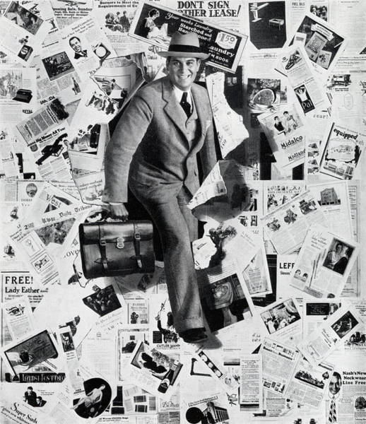 Confidence Photograph - Salesman And Print Ads by Graphicaartis
