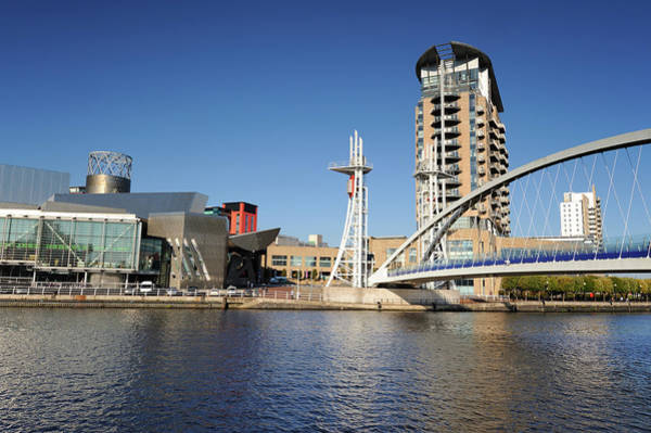 Lowry Photograph - Salford Quays, Manchester by Chrishepburn