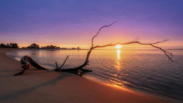 Photograph - Salisbury Beach Sunrise by Michael Hubley