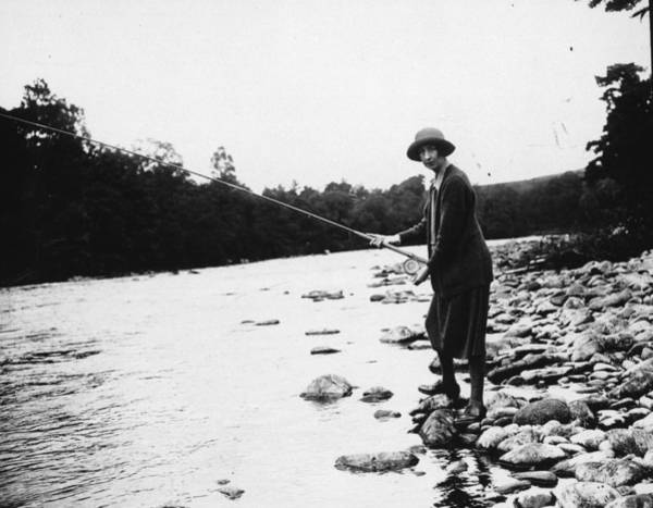 Sport Fishing Photograph - Salmon Fishing by W. G. Phillips