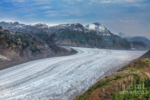 Wall Art - Photograph - Salmon Glacier  by Robert Bales