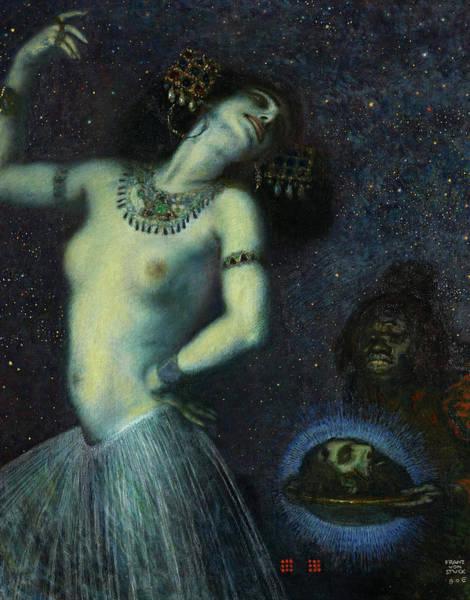 Wall Art - Painting - Salome, 1906 by Franz van Stuck