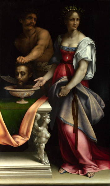 Cesare Painting - Salomesalome About 1510-1520 London, National Gallery by Cesare da Sesto