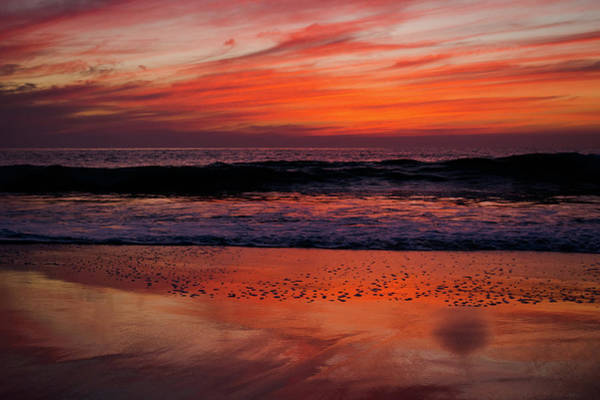 Photograph - Salt Creek Beach Dana Point Sunset by Kyle Hanson