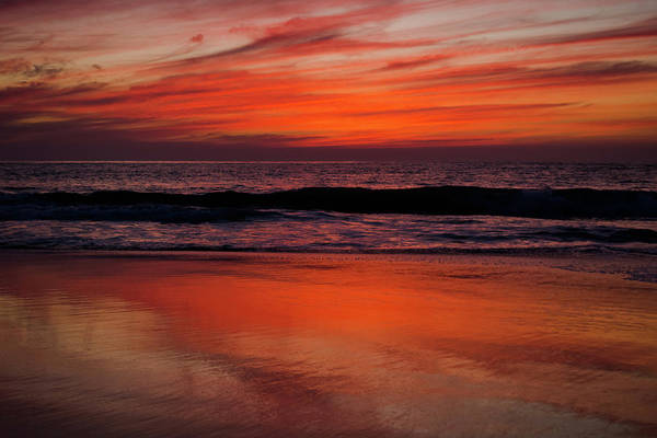 Photograph - Salt Creek Beach Orange County Sunset by Kyle Hanson