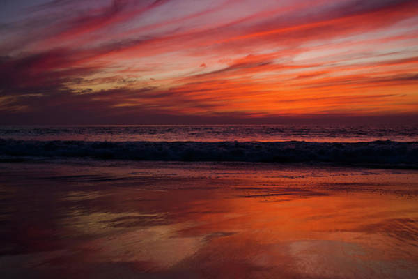 Photograph - Salt Creek Beach Sunset by Kyle Hanson