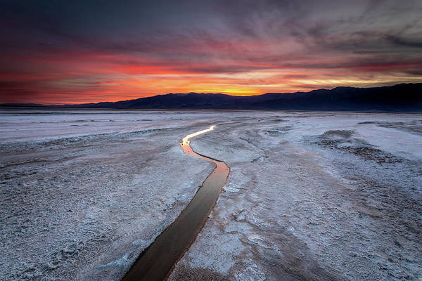 Wall Art - Photograph - Salt Creek Flats by Peter Tellone