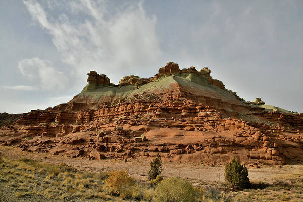 Photograph - Salt Wash Rest Area Along I-70 In Utah by Ray Mathis