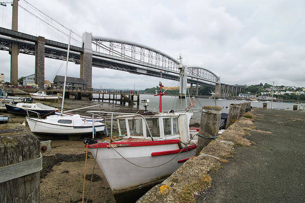 Wall Art - Photograph - Saltash by Martin Newman