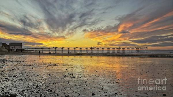 Photograph - Saltburn Pier Panorama by Martyn Arnold