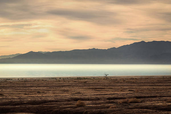 Photograph - Salton Sea Sunset by Rick Strobaugh