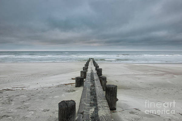 Photograph - Salty Breeze - Folly Beach by Dale Powell
