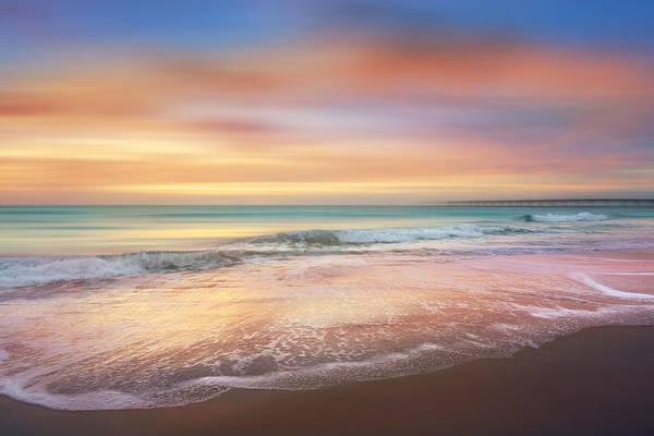 Photograph - Salty Dreams At Dawn Dreamscape by Debra and Dave Vanderlaan