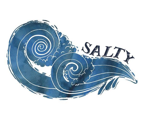 Photograph - Salty by Heather Applegate
