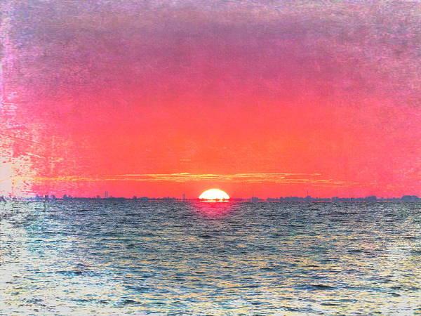 Salty Sunrise Art Print