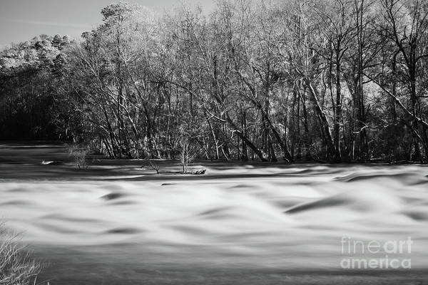 Photograph - Saluda Rapids Infrared-1 by Charles Hite