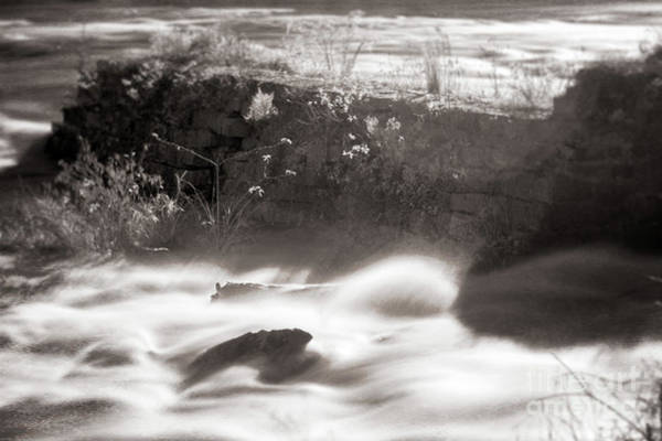Photograph - Saluda Rapids Infrared-2 by Charles Hite