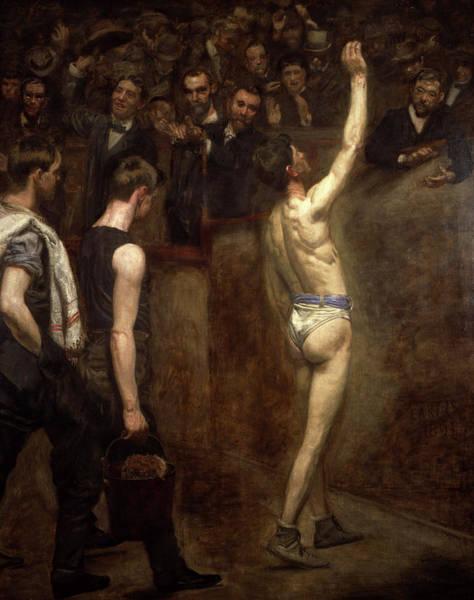 Wall Art - Painting - Salutat, 1898 by Thomas Eakins