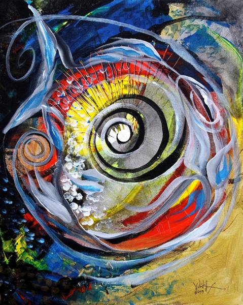Painting - Salvador Dali Catfish by J Vincent Scarpace