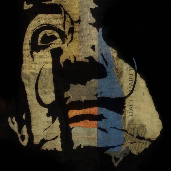 Mixed Media - Salvador Dali  by Paul Lovering