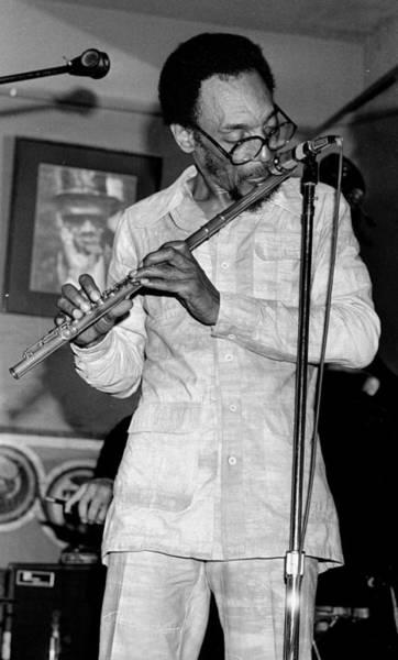 Jazz Music Photograph - Sam Rivers by Tom Copi