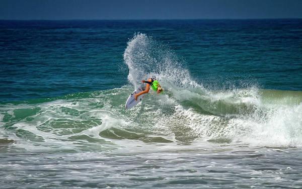 Photograph - Samantha Sibley Surfer Girl by Waterdancer