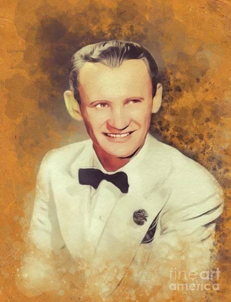 Wall Art - Painting - Sammy Kaye, Music Legend by John Springfield