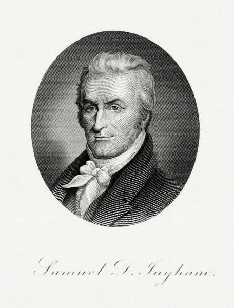 Matter Painting - Samuel D. Ingham by The Bureau of Engraving and Printing