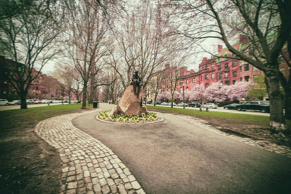 Photograph - Samuel Eliot Morison Sculpture - Boston by Joann Vitali