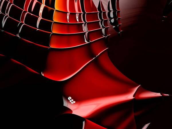 Cyborg Digital Art - Samurai Armor by ArtMarketJapan