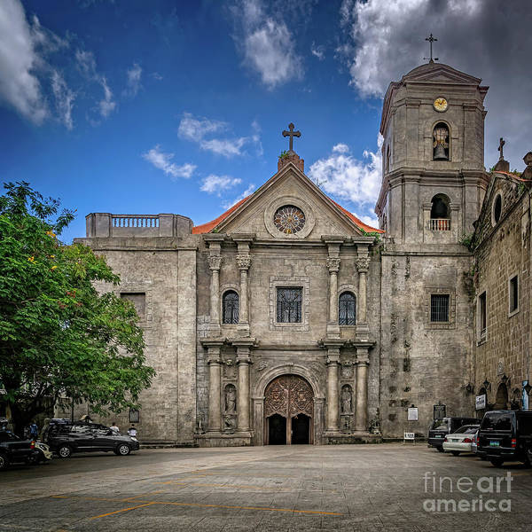 Photograph - San Agustin Church Manila by Adrian Evans