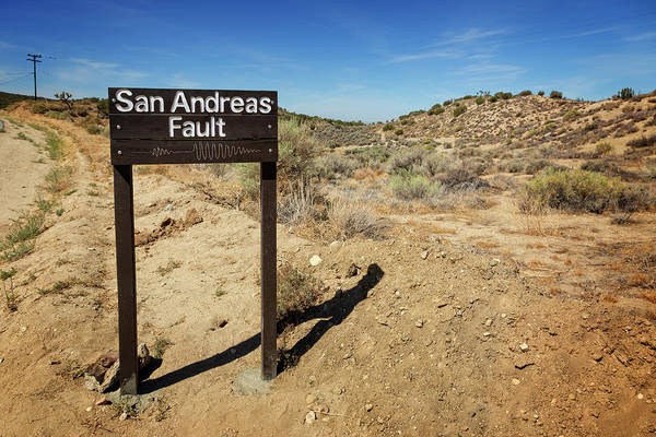 Wall Art - Photograph - San Andreas Fault II by Ricky Barnard